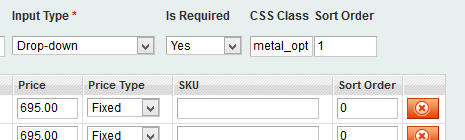 Magento Adding extra field 'CSS Class' in Product Custom Options